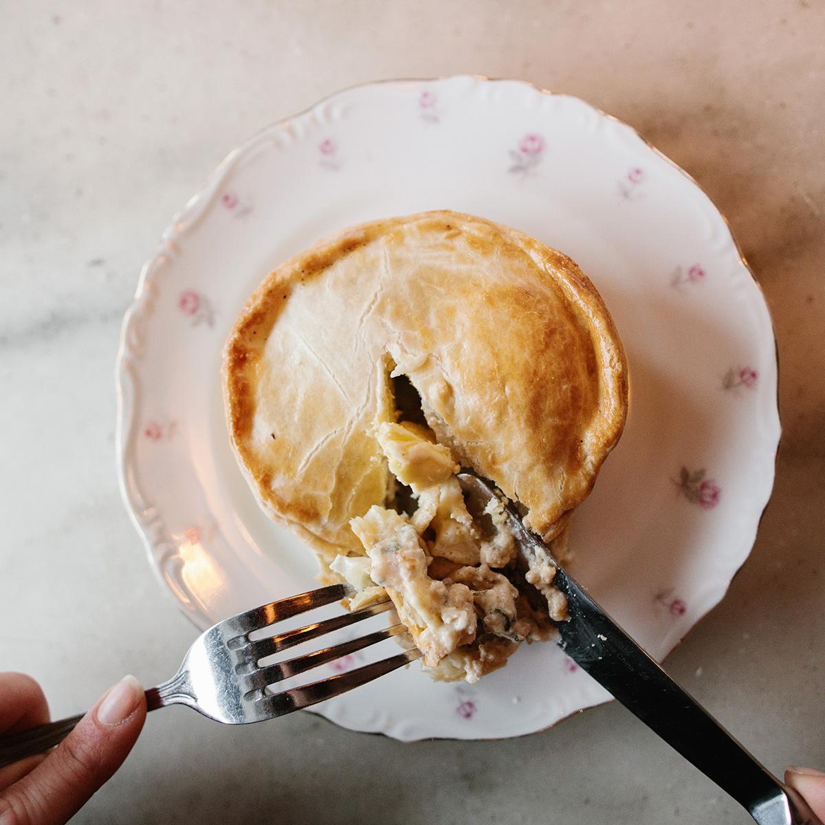 Egg & Bacon Breakfast Hand Pie