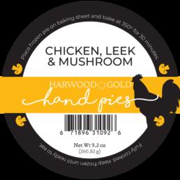 Chicken, Leek, & Mushroom